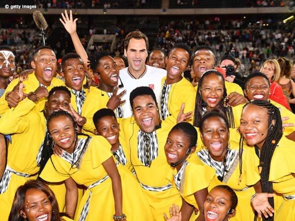 Musim 2020 Saja, Donasi Roger Federer Capai 5 Juta Dolar AS