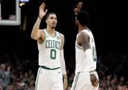 Jayson Tatum Tak Marah Dengan Keputusan Kyrie Irving Tinggalkan Boston Celtics