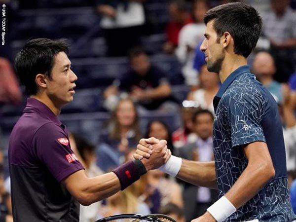 Ketika Jumpa Novak Djokovic Lagi, Kei Nishikori Siap Dengan Taktik Baru