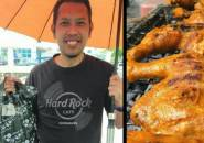 Miris! Mantan Pemain Peringkat 1 Dunia Jualan Ayam Panggang Saat Pandemi Covid-19