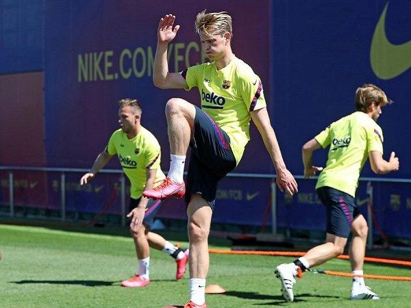 Frenkie de Jong Jamin Barcelona Siap Bertanding Ketika Kompetisi Bergulir