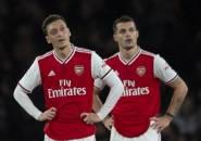 Kerap Dikritik, Granit Xhaka Berikan Pujian untuk Mesut Ozil