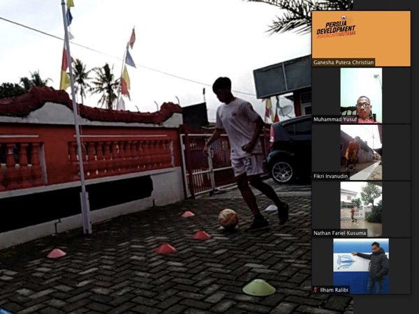 Latihan Online Terakhir di Bulan Ramadan Selesai, Tim EPA Persija Diliburkan