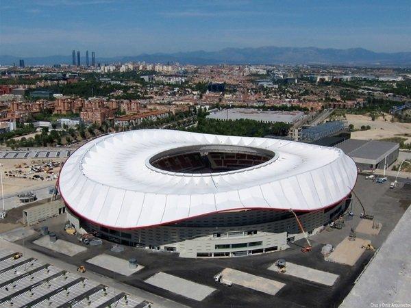 Rekor Atletico Madrid Lebih Baik di Metropolitano Dibandingkan Vicente Calderon