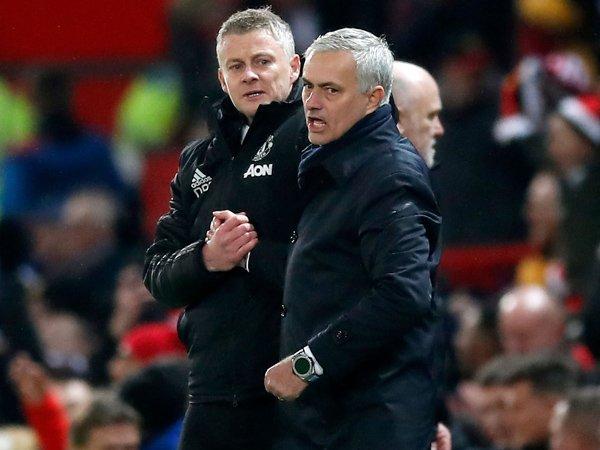 Solskjaer Ungkap Obrolan dengan Mourinho Pada Desember Tahun Lalu