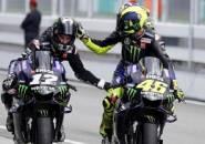 Rossi Tak Mau Kalah Begitu Saja dari Tiga Rider Muda Yamaha