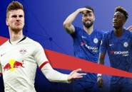 Statistik Werner Musim Ini Disandingkan Striker Chelsea Musim Ini
