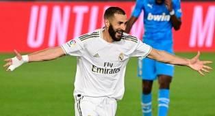 Cetak Dwigol untuk Kemenangan Real Madrid, Benzema Lewati Rekor Gol Puskas