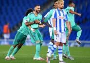 Tundukkan Sociedad 2-1, Real Madrid Geser Barcelona di Puncak La Liga