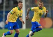 Dani Alves Bantu Yakinkan Arthur Melo untuk Pindah ke Juventus