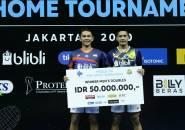 Mola TV PBSI Home Tournament: Tak Terkalahkan, Fajar/Yeremia Jadi Juara