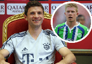 Thomas Muller Pecahkan Rekor Kevin de Bruyne di Bundesliga