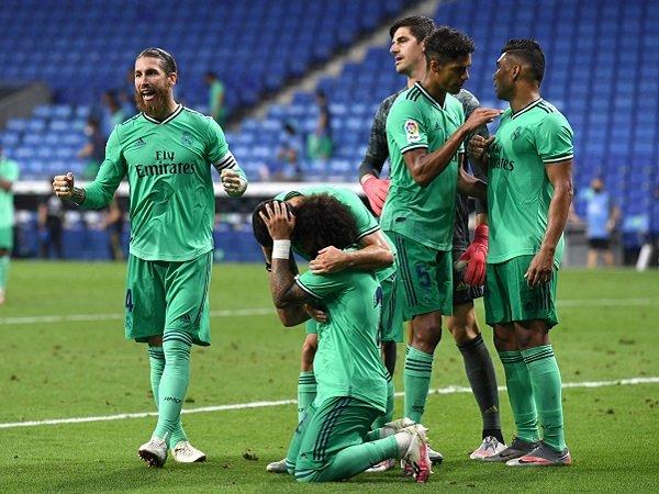 Kemenangan Tipis Atas Espanyol Bikin Real Madrid Unggul Dua Poin Atas Barcelona