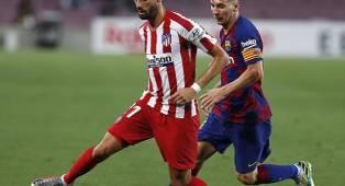 Carrasco Mengaku Bangga Atletico Bisa Menahan Laju Barca