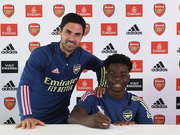 Keyakinan Arteta Terjawab, Bukayo Saka Perpanjang Kontrak dengan Arsenal