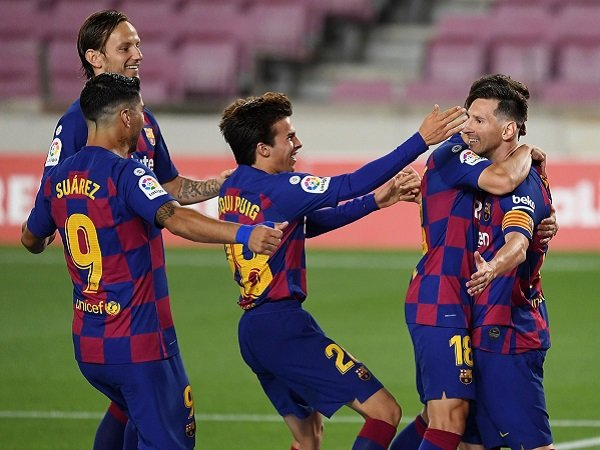 Lionel Messi Cetak Gol ke-700 Tapi Barcelona Imbang Lagi