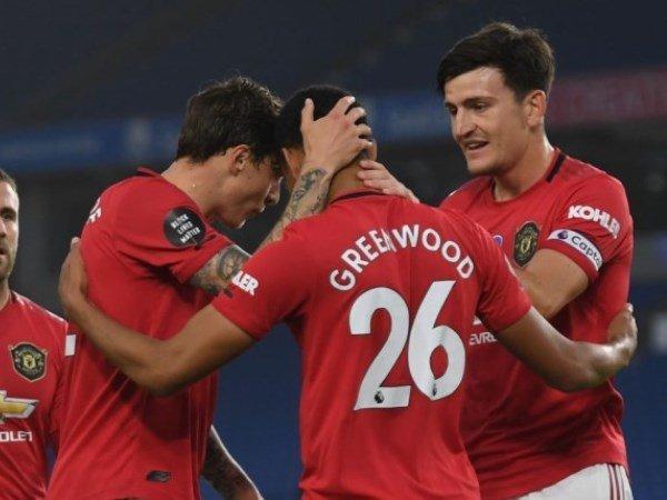 Neville Bandingkan Greenwood Dengan Van Persie Paska Gol Kontra Brighton