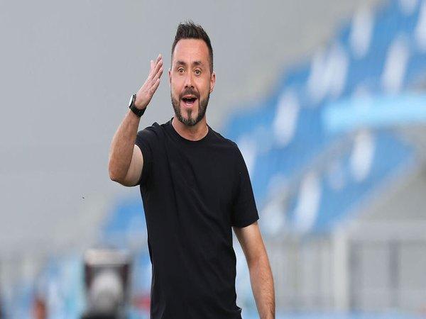 De Zerbi Pede Angkat Posisi Sassuolo di Klasemen Serie A