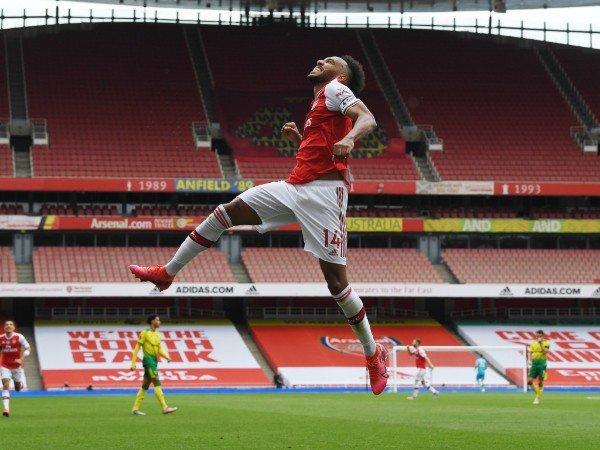 Mikel Arteta Yakin Aubameyang Mau Bertahan di Arsenal