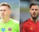 Schmeichel Enggan Berdebat Soal Henderson vs De Gea