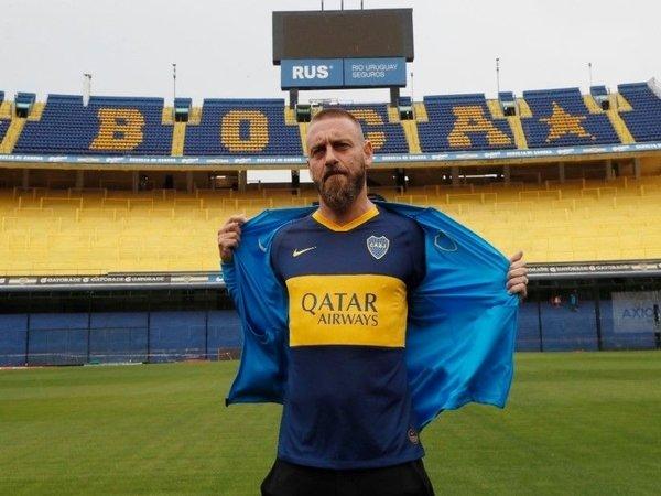 De Rossi Ungkap Impiannya Jadi Pelatih Boca Juniors