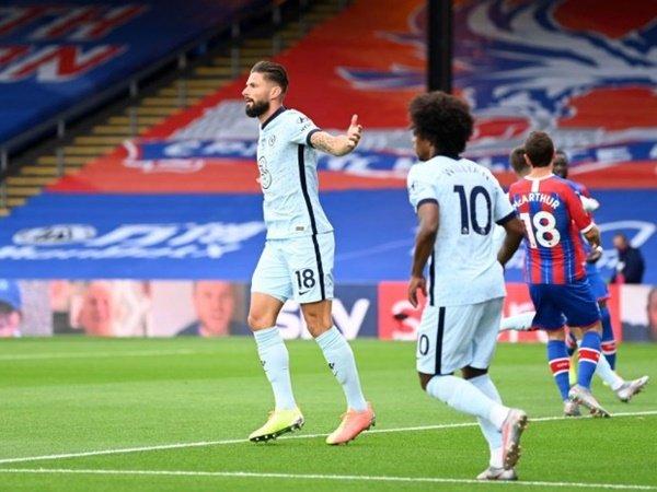 Giroud Pujia Aksi Penyelamatan Kepa dalam Laga Kontra Crystal Palace