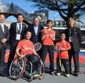 Tim Paralimpik Badminton Jepang Telah Kembali Berlatih