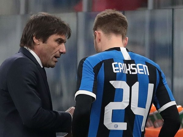 Conte: Eriksen Harus Terbiasa Dengan Sepakbola Italia
