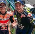 Marc Marquez Dinilai Mirip dengan Valentino Rossi Muda
