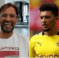 Jurgen Klopp Bicara Soal Potensi Datangkan Jadon Sancho ke Liverpool