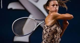 Camila Giorgi Hentikan Langkah Rebecca Peterson Di Palermo