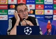 Sarri Klaim Laga Kontra Lyon Takkan Tentukan Nasibnya di Juventus