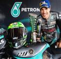 Rossi Turut Merayakan Keberhasilan Morbidelli Tembus Podium Pertamanya