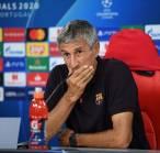 Liga Champions: Quique Setien Percaya Diri Barcelona Bisa Singkirkan Bayern Munich