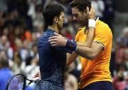 Bagi Novak Djokovic, Juan Martin Del Potro Petenis Yang Paling Tak Beruntung