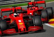 Sebastian Vettel Tak Kaget Ferrari Terpuruk di GP Belgia