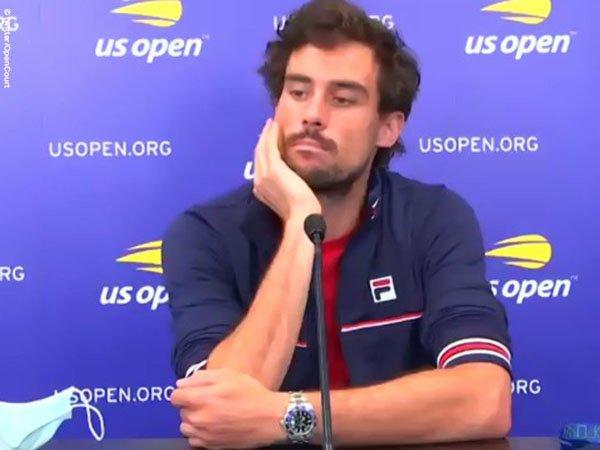 Guido Pella Kecam Pihak US Open Karena Hal Ini