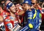 Rossi Beri Dovizioso Tempat di Yamaha Jika Tak Dapat Tim Musim Depan