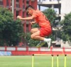 Indra Kahfi Ingin Pertahankan Catatan Positif Bhayangkara FC Atas Arema FC