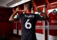 Thiago Alcantara Tetap Gunakan Nomor Punggung 6 di Liverpool