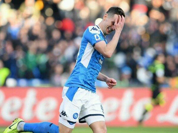 AS Roma menolak berkomentar tentang transfer Arkadiusz Milik