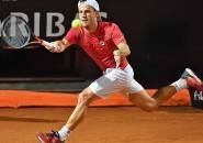 Penuh Perjuangan, Diego Schwartzman Melaju Ke Final Italian Open Pertama