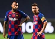 Arturo Vidal Balas Salam Perpisahan ke Lionel Messi