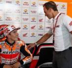 Honda Kangen Lihat Aksi Marc Marquez di Atas Lintasan