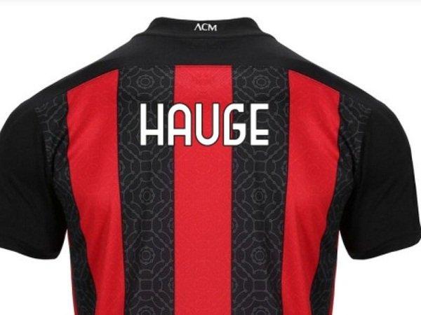 Nomor Punggung Hauge di Milan