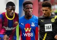 Sindir Manchester United, Zaha Diklaim Lebih Hebat dari Sancho dan Dembele