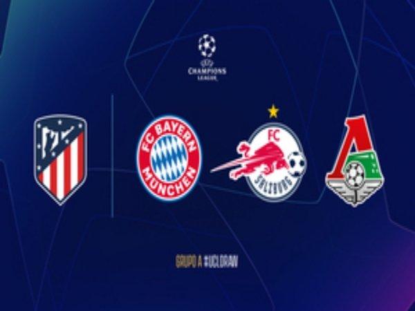 Atletico Madrid menantang Bayern di Grup A