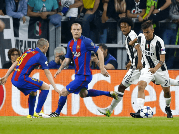 Juventus dan Barcelona bersua lagi di Liga Champions.