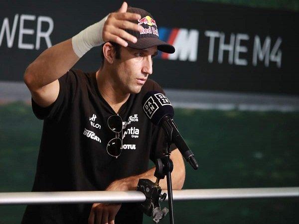 Johann Zarco lapang dada gagal naik skuat pabrikan Ducati.
