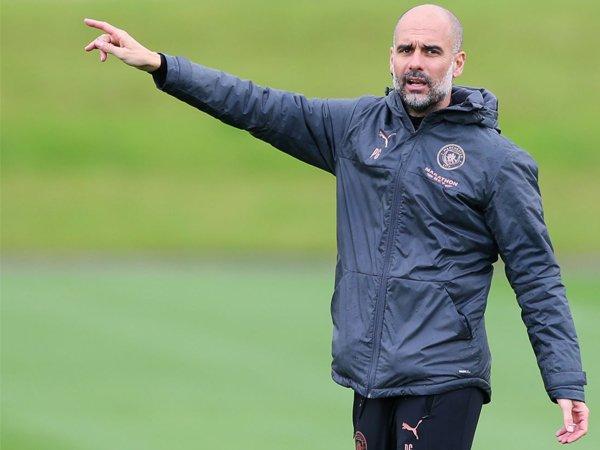 Manajer Man City, Pep Guardiola.